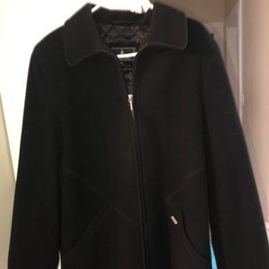 London Fog Women's Black Winter Coat